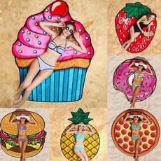 Tassels, Hamburger, beachmat, Picnic