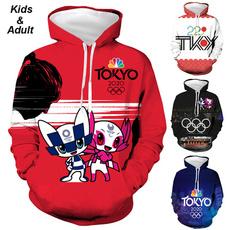 Couple Hoodies, olympic, Fashion, tokyo