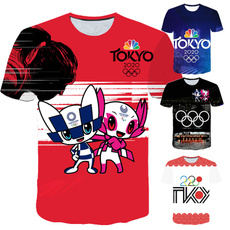 olympicsshirt, шорти, Necks, Рукав