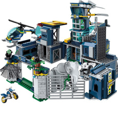 building, city, Toy, Police