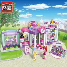 building, Boy, Educational, Toy