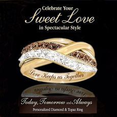 twistring, 18k gold, Romantic, Gifts