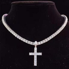 Chain Necklace, mens necklaces, Cross necklace, Chain