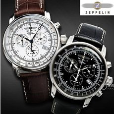 Chronograph, quartz, zeppelinwatche, fashion watch