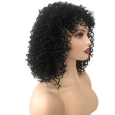 wig, Shorts, Curly Hair, americanwig