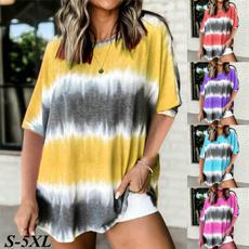 Plus Size, Plus Size Fashions, Loose, short sleeves