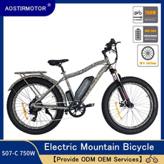 Mountain, Bicycle, Electric, Tire