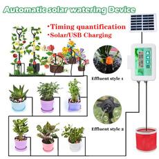 solarpoweredgadget, Garden, Gardening Supplies, automaticwateringdevice