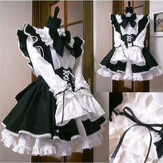 gowns, Fashion, apron, Long Sleeve