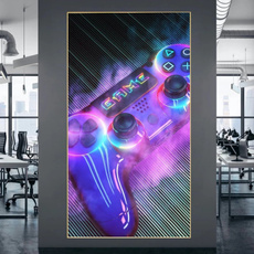 Playstation, Video Games, modernstyle, Wall Art