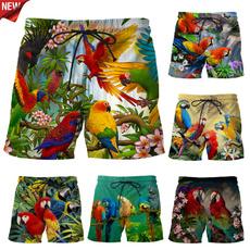 cute, Fashion, Parrot, beachpant