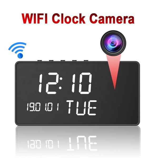 Spy, cameraclock, wificameraclock, Photography