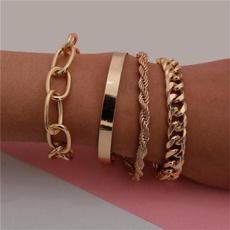 Chain, Gifts, Geometry, Bracelet
