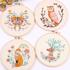 Kit, embroiderycrossstitch, creativeembroiderypainting, Embroidery