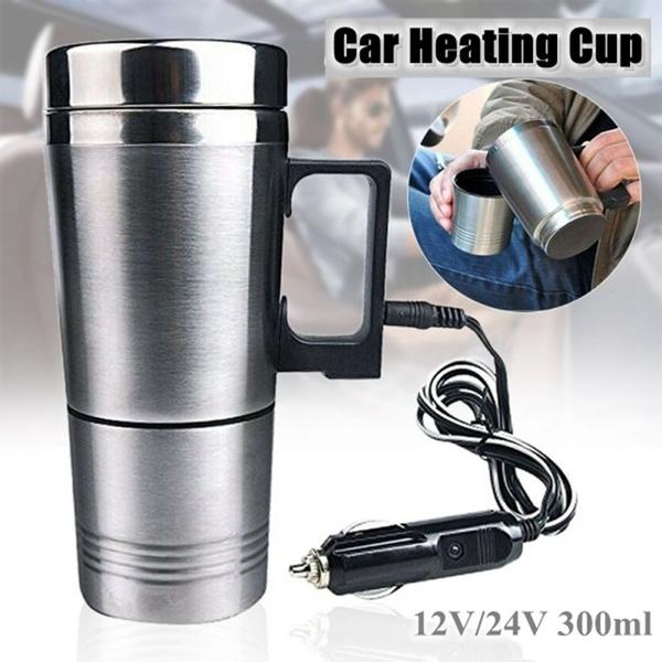 Steel, Coffee, heatedmug, travelmug