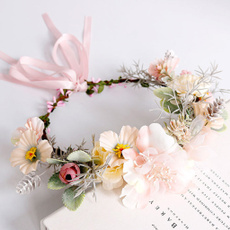 Flowers, Garland, flowerhairband, Festival