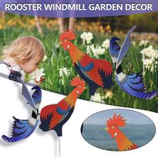 Unique, roosterdecor, art, Garden