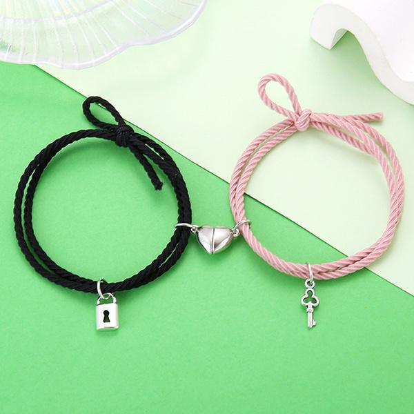 Fashion, promisebracelet, Jewelry, bracelets for couple