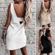 Mini, Shift Dress, Tank, short dress