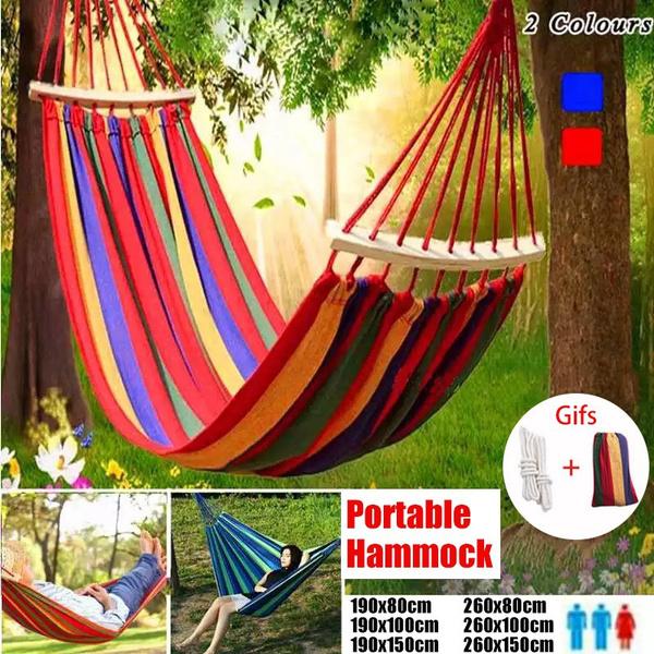 Outdoor, doublehammock, canvashammock, hammockset