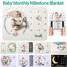 photopropblanket, newbornbaby, Blanket, babymilestoneblanket