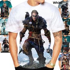 viking, Summer, Fashion, Mens T Shirt