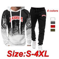 Fashion, backwood, 2pcsset, pants