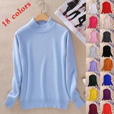 baseshirt, Shorts, Knitting, solidcoloredsweater