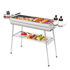 Steel, Grill, Outdoor, Stainless Steel