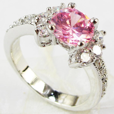pink, Sterling, Fashion, Jewelry