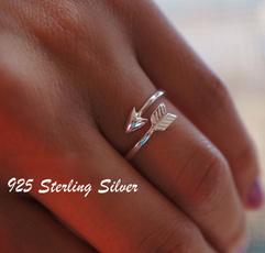 Sterling, adjustablering, Fashion, Love