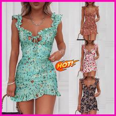 slim dress, Round neck, Fashion, Necks