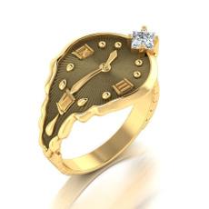Engagement, mensandwomensring, wedding ring, Clock