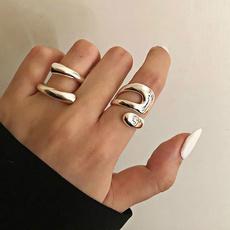Sterling, Fashion, texturering, wedding ring