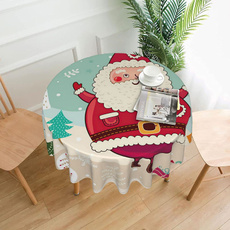 Coffee, picnictablecloth, roundtablecloth, turquoisetablecloth