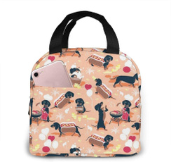 Box, cute, coolerbag, lunchtotebag