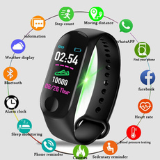 androidsmartwatch, Heart, led, Waterproof Watch
