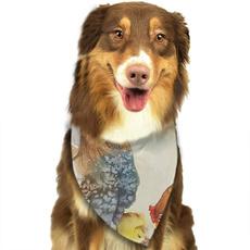 Dog-Bandana, Triangles, dogscarf, bandanasfordog