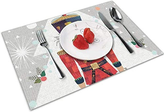 Ornament, tablematssetof4, tableplacemat, placematsfordiningtable