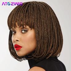 braidswigsforafricianamerican, braidedwigsforblackwomen, Hair Extensions & Wigs, handbraidedwig