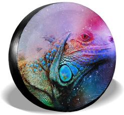 wranglersparetirecover, art, Colorful, Waterproof