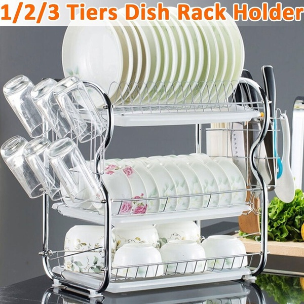 Steel, dishshelf, Kitchen & Dining, Home Decor