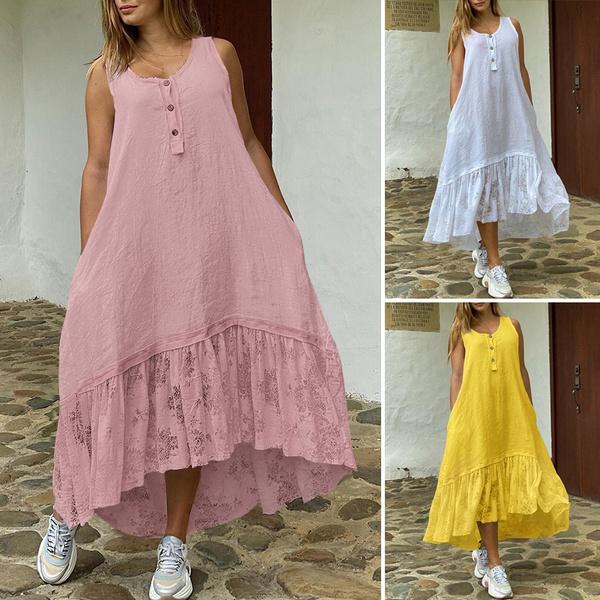 sleeveless, plaindres, Holiday, Lace