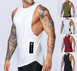 Summer, Vest, Fashion, Fitness