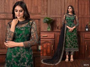Dress, salwarkameez, Women's Fashion, Green