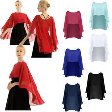 womensshrug, shawl and wraps, Fashion, chiffon