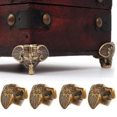 Antique, Box, furniturefeet, Elephant