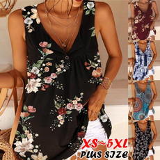 blouse, Summer, Vest, Loose