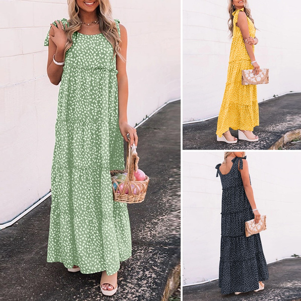 Fashion, ruffle, plus size dress, Dress