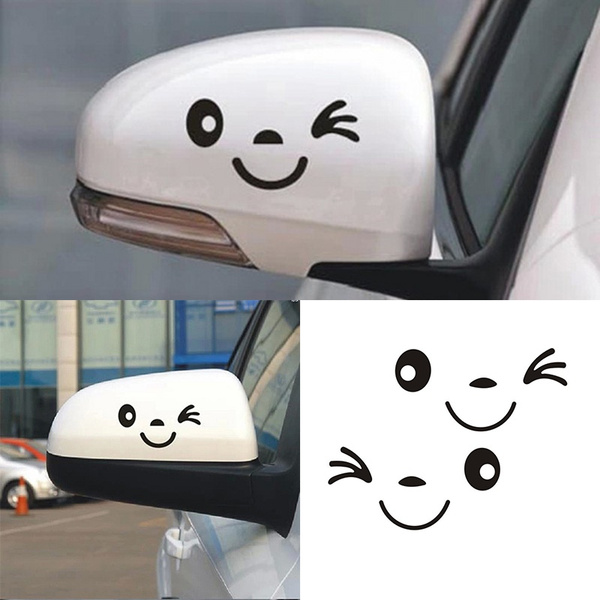 cute, smilefacesticker, Cars, Stickers